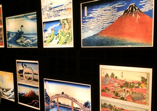 多色刷りの浮世絵を世に送り出した木版印刷